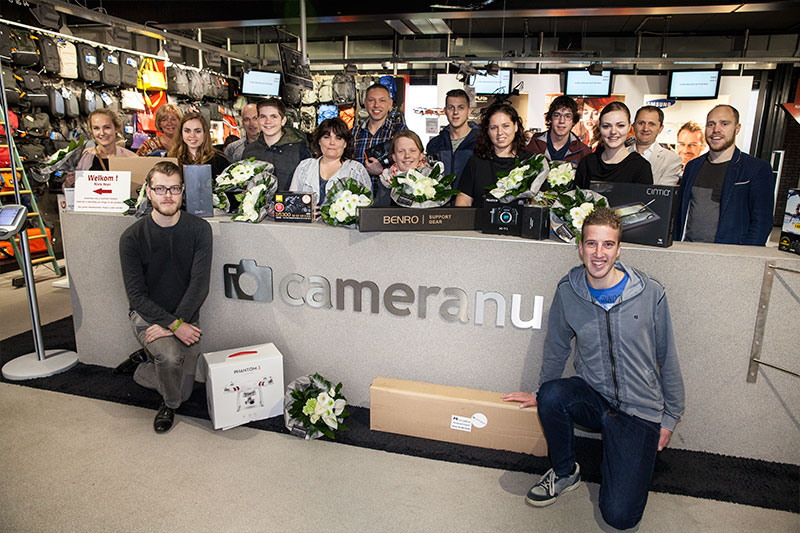 Winnaars jubileumactie CameraNU.nl - 2