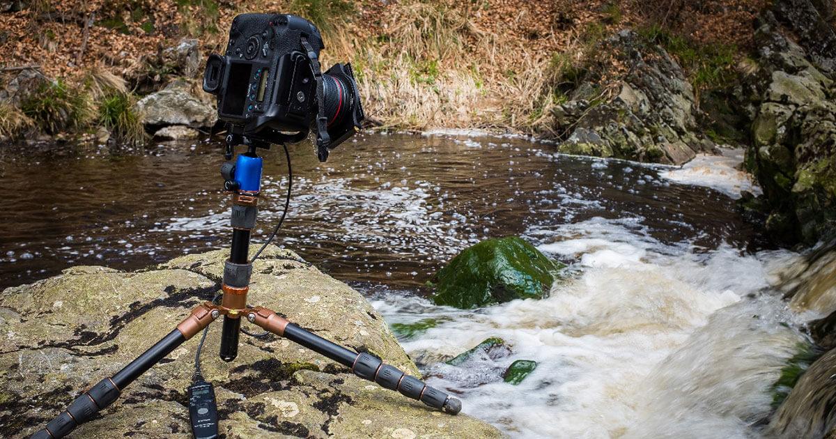 De juiste sluitertijd bij stromend water