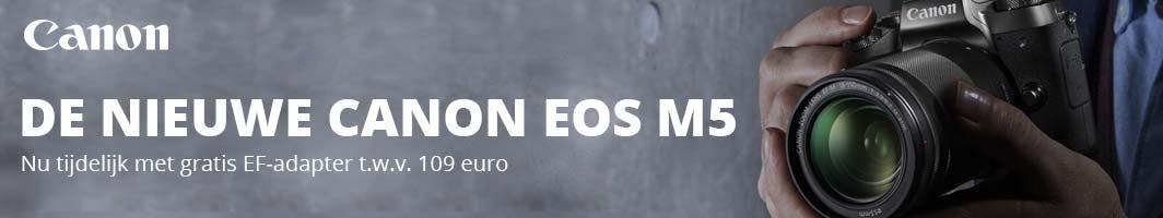 NIEUW: Canon EOS M5 systeemcamera - 1