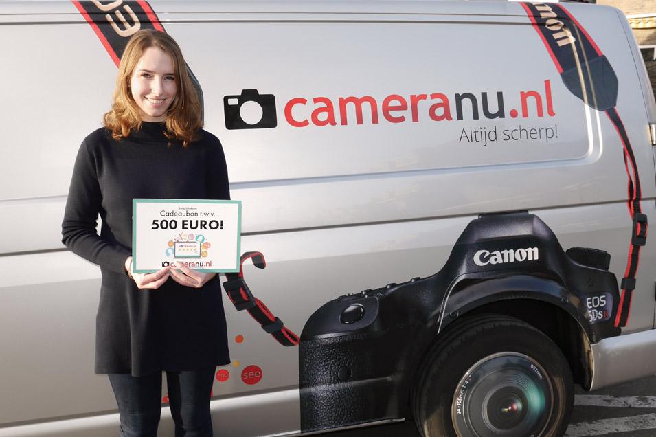 Winnaars 500 euro review actie - 2