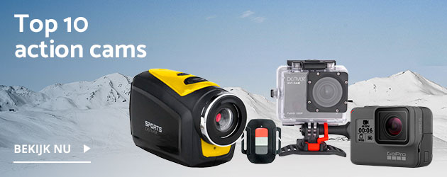 Onze action cam Top 10