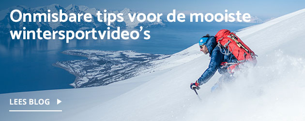 Blog: Onmisbare tips voor de mooiste wintersport video's