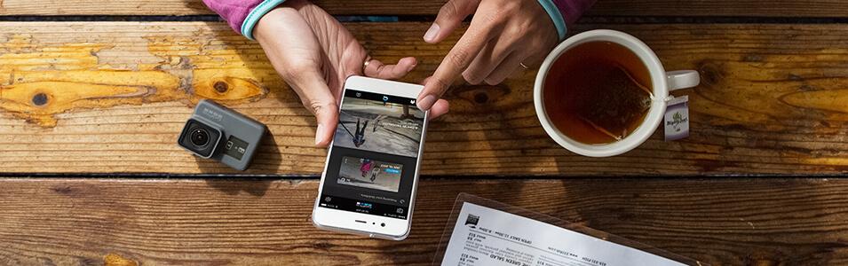 Video's maken met GoPro Quik