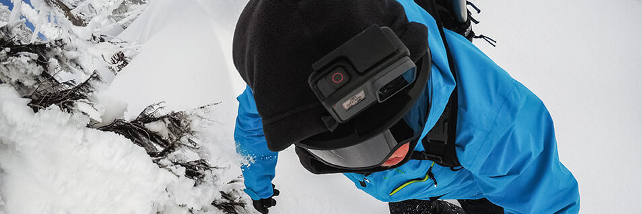 Met je GoPro action cam op wintersport
