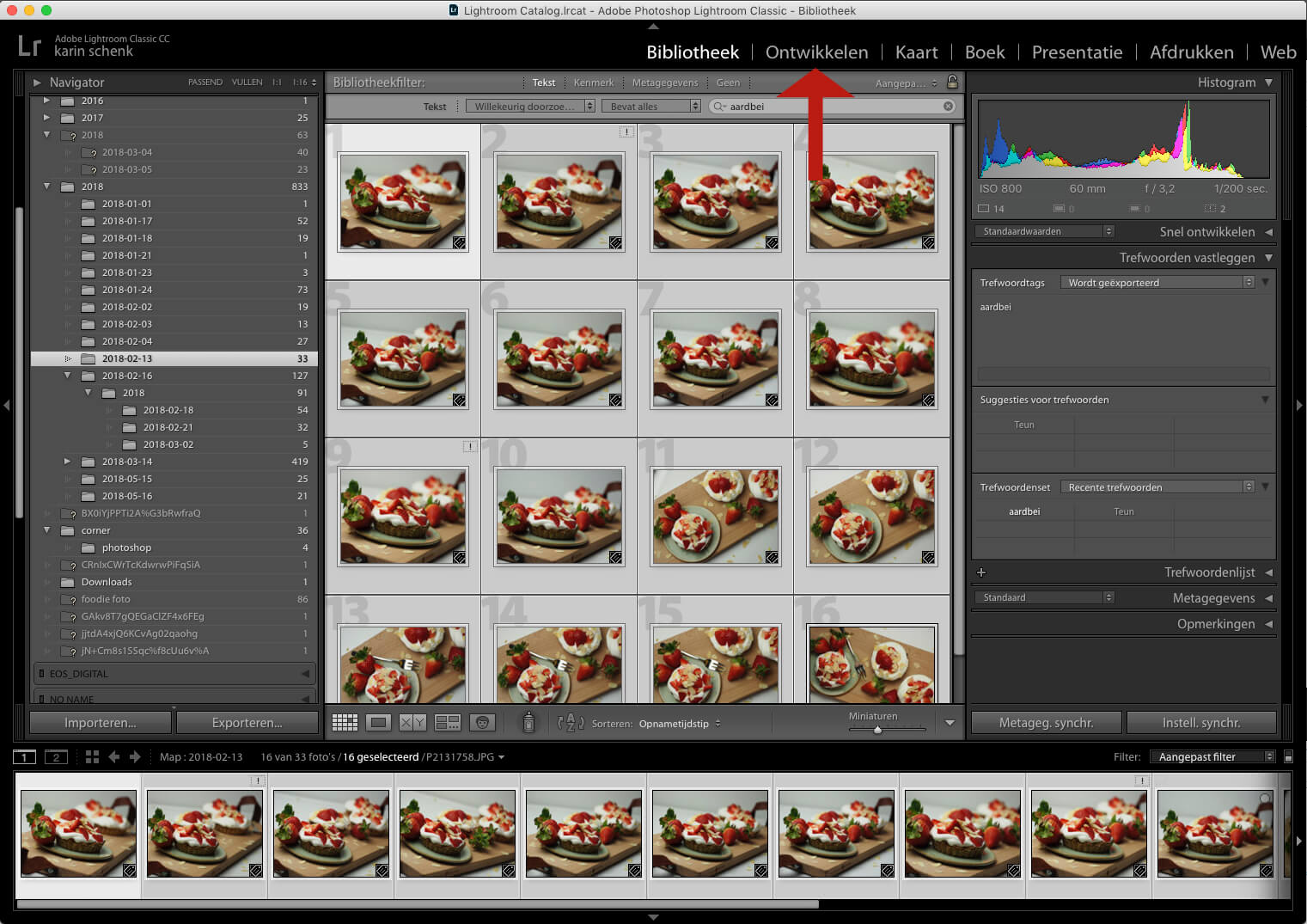 Presets maken en inladen in Lightroom - 1