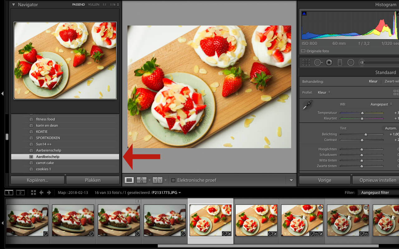 Presets maken en inladen in Lightroom - 3