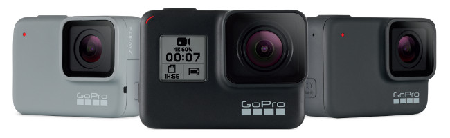 GoPro Hero 7 Black vs Hero 7 Silver vs Hero 7 White