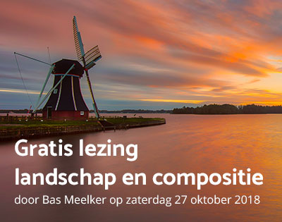 Gratis lezing over landschapsfotografie door Bas Meelker