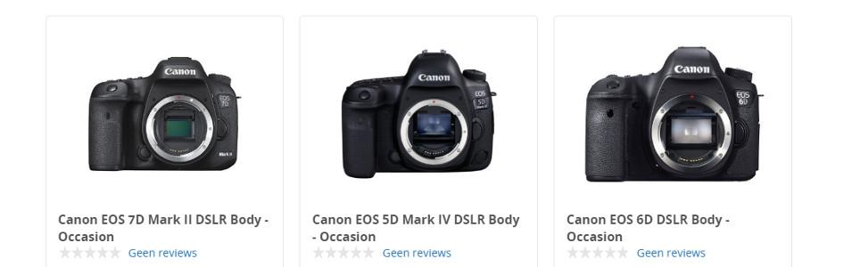 Canon tweedehands