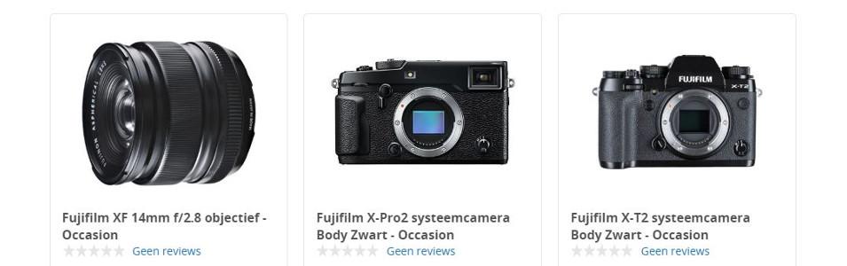 Fujifilm tweedehands