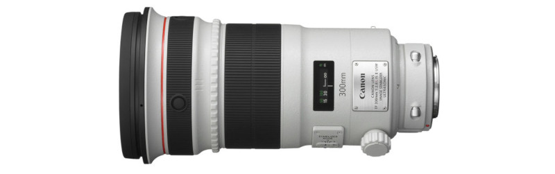 Canon EF 300mm f/2.8L IS USM II objectief