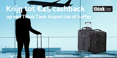 Think Tank Airport Series cashback 2019 - 2