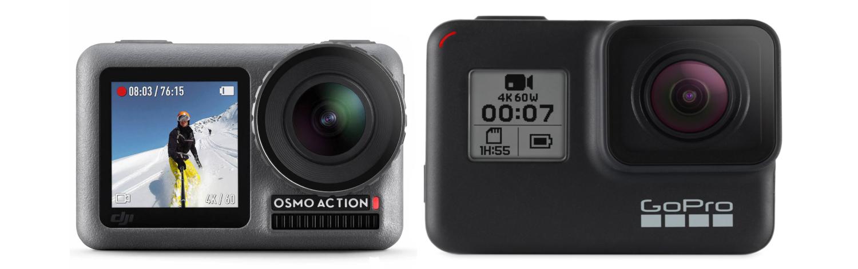 DJI Osmo Action vs GoPro Hero & Black