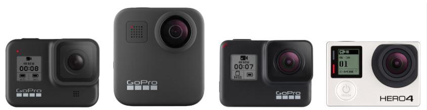 Nieuwe GoPro's vergeleken