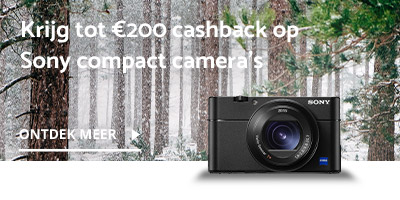 Sony winter cashback compact camera