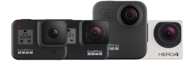 GoPro Hero 8 vs Hero 7 vs Max vs Hero 4