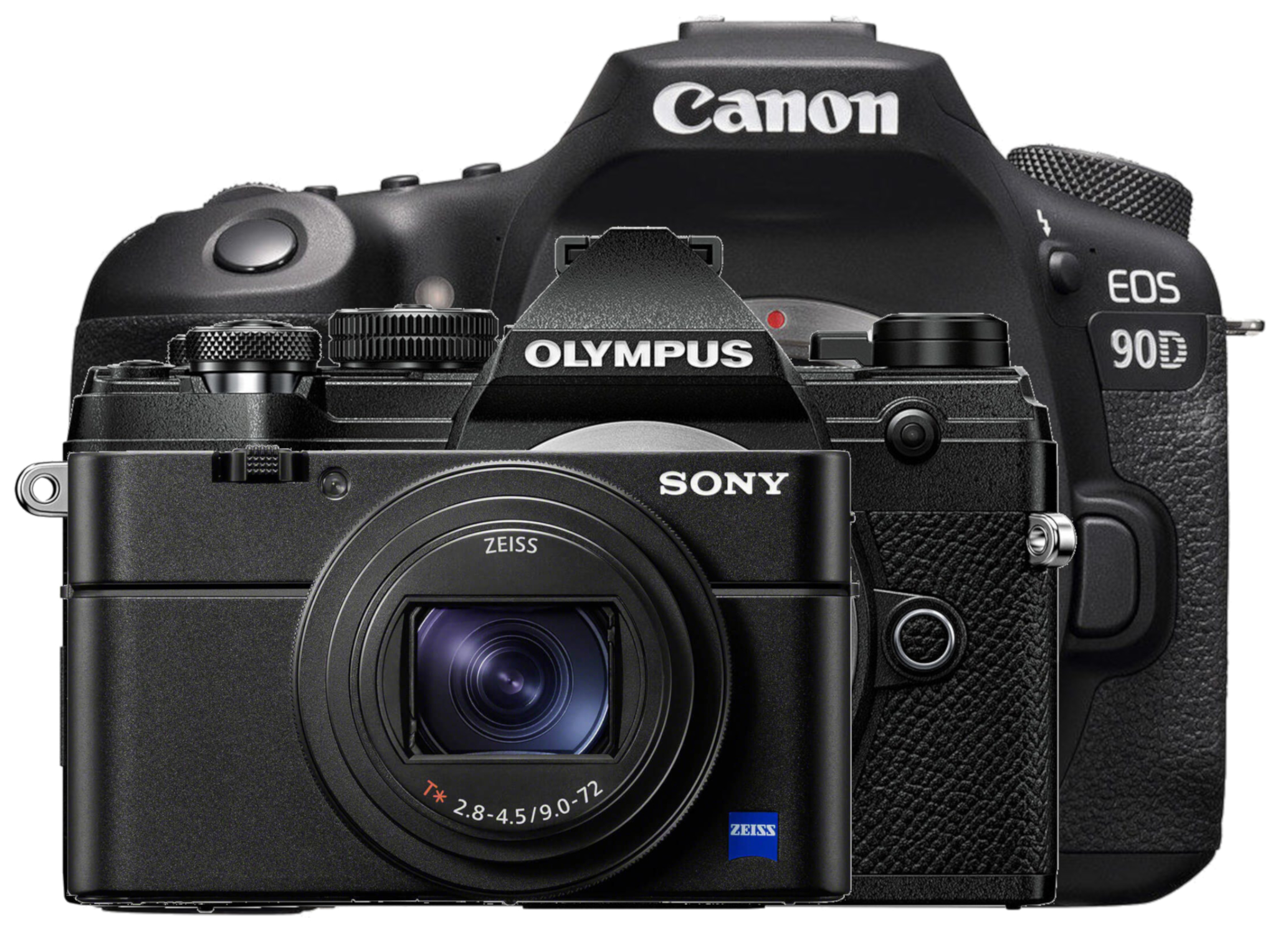 Olympus E-M5 Mark III vs Canon 90D vs Sony RX100 VII - 6