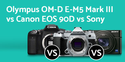 Olympus E-M5 Mark III vs Canon 90D vs Sony RX100 VII - 2