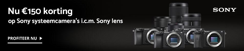 Sony A6000-serie kassakorting