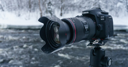 Review: De Canon EOS 90D in Lapland