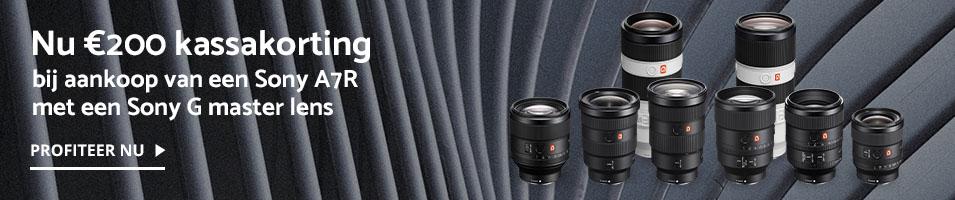 Sony A7R bundelpromotie