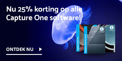 Nu 25% korting op alle Capture One software!