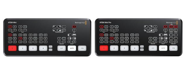 Blackmagic ATEM Mini vs Mini Pro