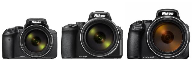 Nikon P900 vs Nikon P950 vs Nikon P1000