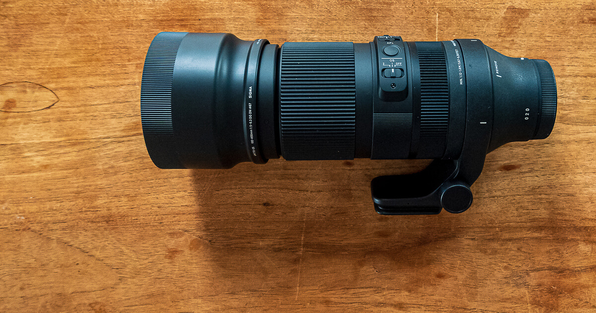 Review Sigma 100-400mm Contemporary objectief