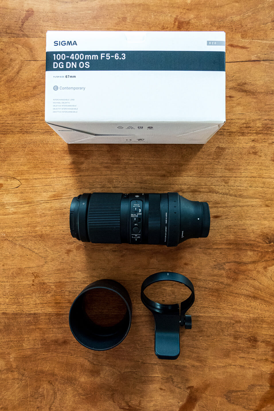 Review Sigma 100-400mm Contemporary objectief - 1