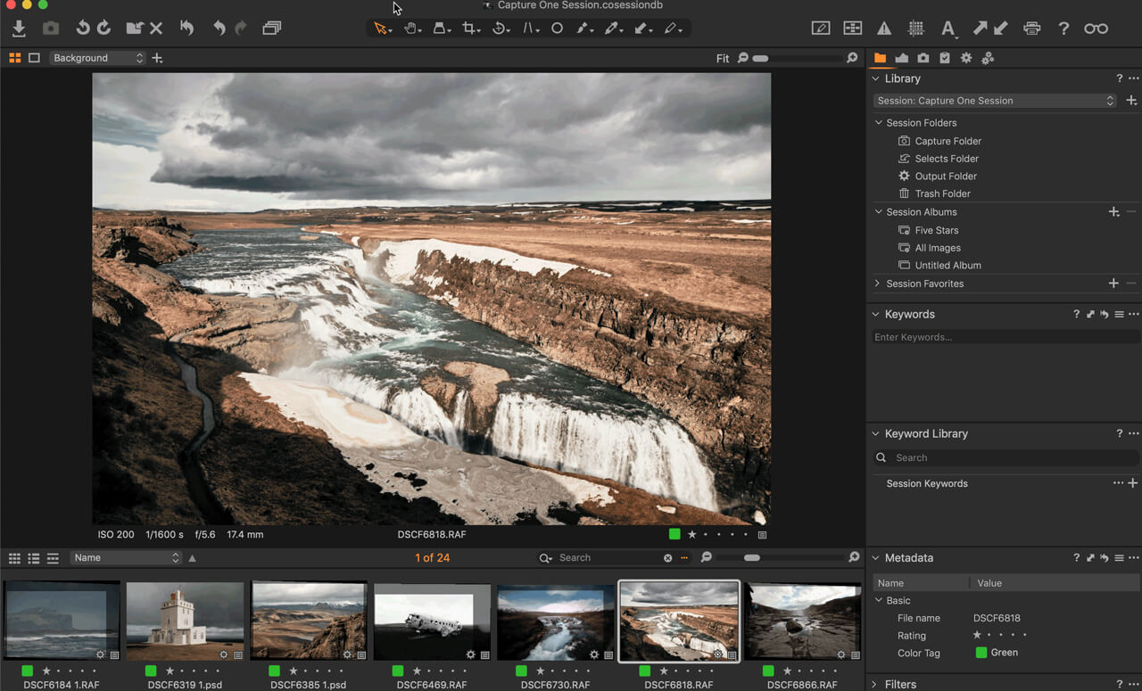 11 overeenkomsten van Capture One en Lightroom - 1