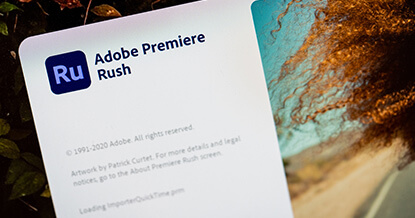 Video's maken met Adobe Rush