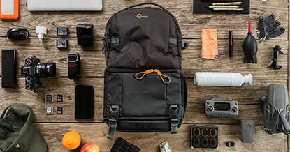 Review Lowepro Fastpack BP 250 AW III rugtas