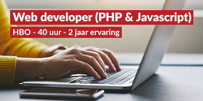 Web Developer (PHP & Javascript)