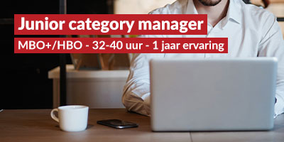 Junior category manager
