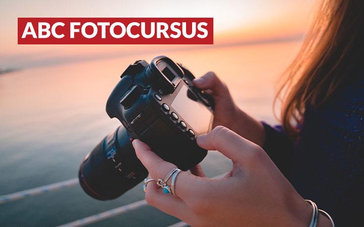 Leer fotograferen met de ABC fotocursus