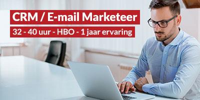 E-Commerce | CRM/E-mail marketeer