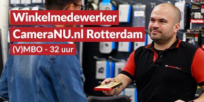 CameraNU.nl Rotterdam | Winkelmedewerker