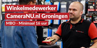 CameraNU.nl Groningen | Verkoopmedewerker winkel