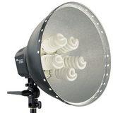 Falcon Eyes Lamp + Reflector 40cm LHD-5250F 5x28W - thumbnail 1