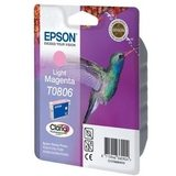 Epson Inktpatroon T0806 - Light/Licht Magenta (origineel)