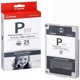 Canon E-P25BW 25 vel postcard 10x15cm zwart-wit - thumbnail 1