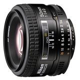 Nikon AF 50mm f/1.4D objectief - Occasion - thumbnail 1