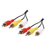 Tulp Audio / Video kabel 10 meter - thumbnail 1