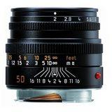 Leica Summicron-M 50mm f/2.0 objectief Zwart - thumbnail 2
