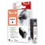 Peach Inktpatroon CLI-521BK - Black/Zwart (met chip) - thumbnail 1