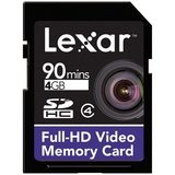 Lexar SDHC Full-HD Video 4GB