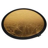 Visico Reflectiescherm Gold/Silver (RD-020) 110 cm - thumbnail 2