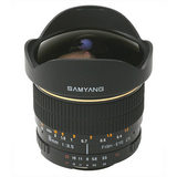 Samyang 8mm f/3.5 Fisheye CS MC Canon objectief - thumbnail 2