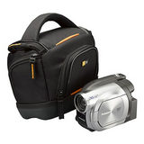 Case Logic Medium Camcorder Case SLDC-203 Zwart - thumbnail 2
